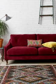 furniture red sofa sleeper burgundy couch burgundy leather chairs