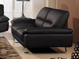 canapé 2 places en cuir canapé 2 places cuir coloris noir beige blanc gris marron