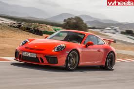 gold porsche gt3 2017 porsche 911 gt3 review wheels