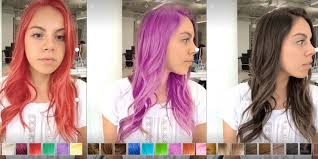 Try On Hair Color App New Ar Demo Apps Preview Hair Coloring And A Fun Way To Leave