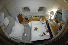 Emirates Airbus A380 Interior Business Class The Emirates A380 First Class Cabin One Indulgent Experience