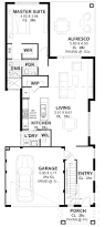 10m wide house plans u0026 home designs perth vision one homes
