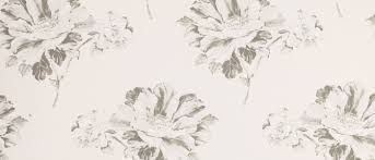 hermione off white charcoal floral wallpaper laura ashley