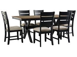 Transitional Dining Room Sets Standard Furniture Braydon Dining Transitional Table And Chair Set