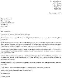 digital media designer cover letter