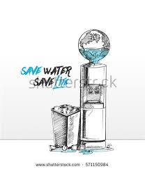 tap drop save water save life stock vector 590492849 shutterstock