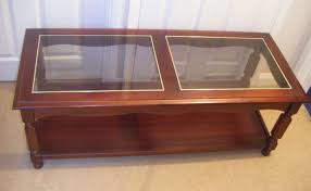 Wood Glass Coffee Table Best Wood Glass Coffee Table With Regarding Top Plan