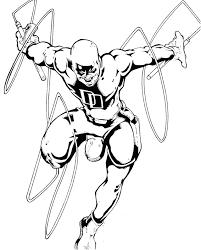 daredevil 4 superheroes u2013 printable coloring pages