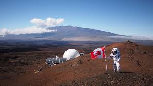 what would life on mars be like a canadian scientist spent months