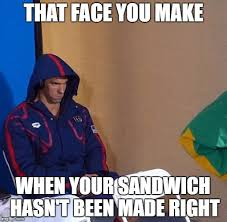 Michael Phelps Meme - michael phelps stare imgflip