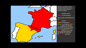 France And Spain Map by Alternate Wars Part 2 France Spain War Youtube