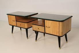 wood mid century modern nightstands how to keep mid century