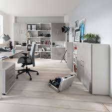 Schreibtisch 1 20 M Breit Schreibtisch Berlin 120 Cm Beton Weiß Matt Büromöbel Günstig Kurze