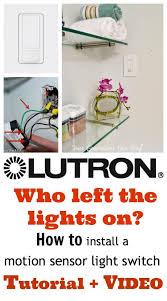 how to install sensor light how to install a motion sensor light switch diy light switches
