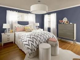 Gray Painted Bedrooms Grey Room Ideas Glass Lamp Shade Pendant Light Bedside Ottoman Bed