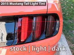 tail light smoke kit tail light smoke overlays black out 2015 mustang v6 ecoboost