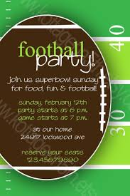14 best invitations images on pinterest football parties