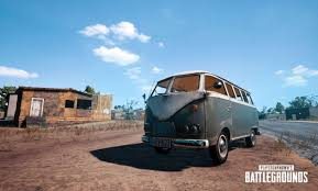 pubg release date pubg s newest vehicle is an old mini bus dot esports