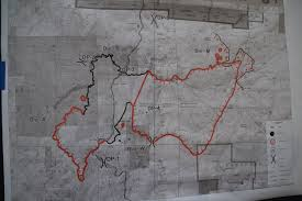 Wildfire Perimeter Map by Crews Secure Lines Around Fish Camp On Railroad Fire Sierra News