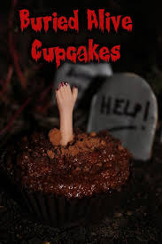 buried alive friday the 13th chocolate cupcake not quite nigella