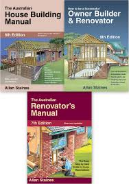 house building successful owner builder australian renovators manual