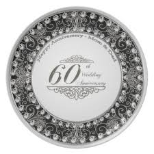 60th wedding anniversary plate 60th wedding anniversary plate zazzle