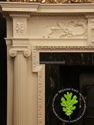 nicely restored 19th century adam syle chimney piece wilsonsyard com