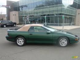 1995 camaro z28 convertible 1995 polo green metallic chevrolet camaro z28 convertible