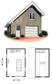 1car garageplan 65238 unique and practical this salt box style