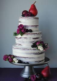 semi red velvet wedding cake with cream cheese frosting