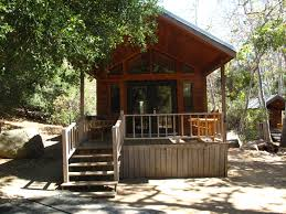 Tiny Cabin by Glamping At El Capitan Canyon Looks Like Just A Tiny Cabin
