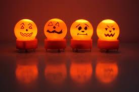 Halloween Mini Lights Mini Jack O U0027lantern And Ghost Night Lights Buzzmills