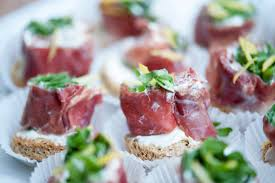 canapé cocktail wedding catering canape packages with great menu options greenleaf