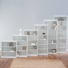 32 Inch Wide Bookcase Belham Living Hampton Console Table 2 Shelf Bookcase White Oak
