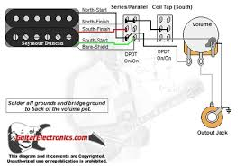 humbucker 1 volume series parallel u0026 coil tap south