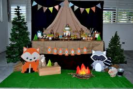 cing themed party woodland party decorating ideas home design 2017