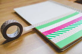 Notebook Cover Decoration Ink Adventure Diy Washi Tape Notebook