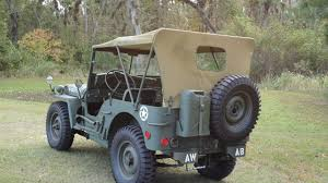 1942 Ford Military Jeep W54 Kissimmee 2013