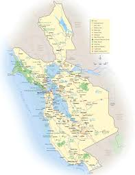 San Francisco Attractions Map by California Map San Francisco U2022 Mapsof Net