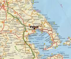 volos map greece travel volos in magenesia prefecture page 1