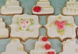 Wedding Cake Cookies Gold U0026 Pink Wedding Cake Cookies Cakecentral Com