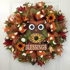 25 unique thanksgiving mesh wreath ideas on fall