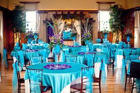 peacock wedding decorations peacock themed wedding at banquet halls c bertha fashion