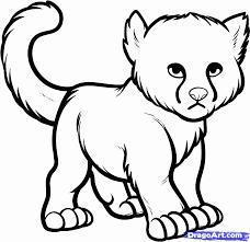 pics baby cheetahs kids coloring