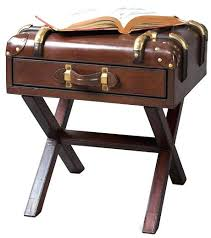 trunk style bedside tables trunk bedside table choice image table decoration ideas