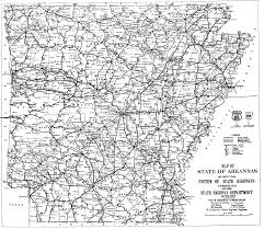 Arkansas State Map With Cities by Arkansas Road Map My Blog