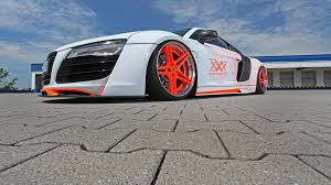 audi r8 slammed audi r8 slammed to the road by performance
