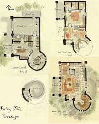 Storybook Cottage House Plans by Top 25 Best Cottage Floor Plans Ideas On Pinterest Cottage Home