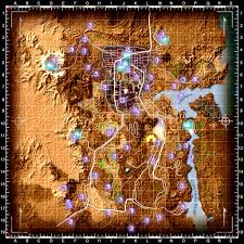 Fallout 3 Map Markers by A Map To Every Skill Book Fallout