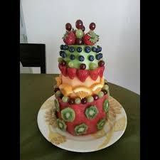Watermelon Cake Decorating Ideas Best 25 Cake Made Of Fruit Ideas On Pinterest Fruit Cake
